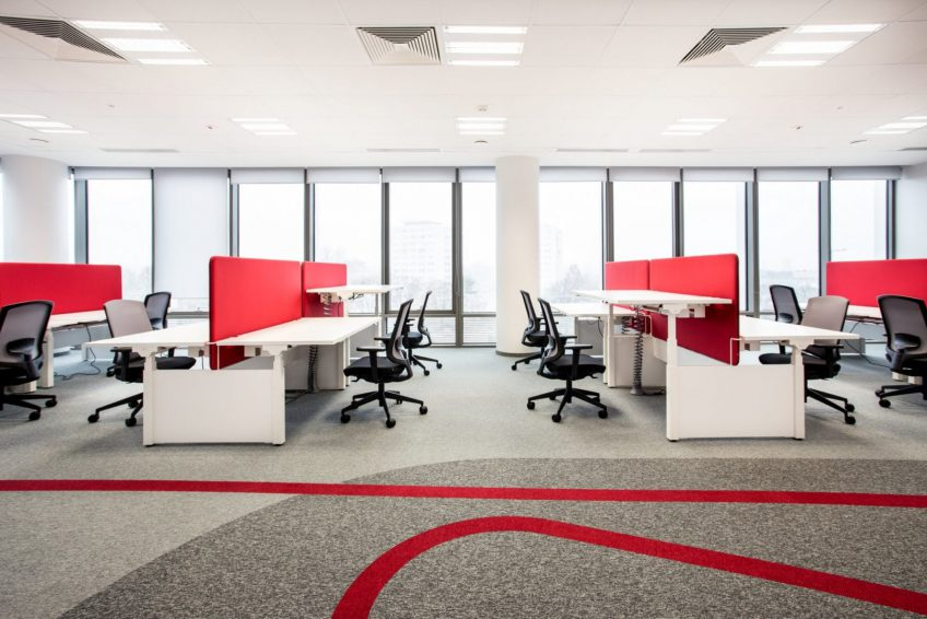 birou open space